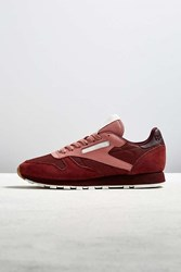 Urban Outfitters Reebok Classic Leather Sm Sneaker Berry
