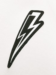 Neil Barrett Lightning Bolt Jumper White