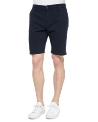 Joe's Jeans Brixton Woven Trouser Shorts Navy