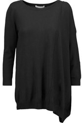 Autumn Cashmere Cutout Sweater Black