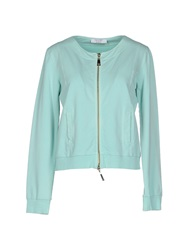 Twin Set Simona Barbieri Sweatshirts Light Green