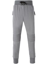 Unconditional Kneepad Plush Trousers Grey