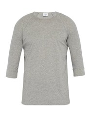 The White Briefs Anchovy Organic Cotton T Shirt Grey