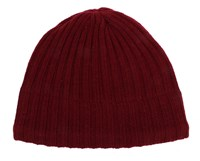 Dents Knitted Hat Burgundy