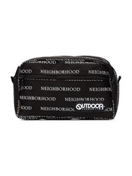 Neighborhood Black And White X Outdoor Products Logo Wash Bag