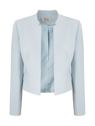 Precis Petite Amelia Blue Crop Jacket Blue