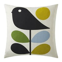 Orla Kiely Early Bird Cushion 45X45cm Duck Egg