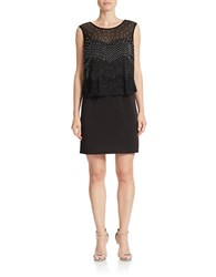 Decode 1.8 Beaded Blouson Dress Black