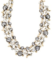 Sweet Deluxe Cordoba Necklace Antikgold Crystal Black Diamond Silver
