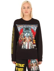 Spaghetti Boys Turn That Shit Off Long Sleeve T Shirt Black