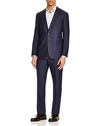 Todd Snyder Wool Navy Fine Check Slim Fit Suit
