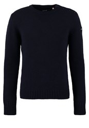 Schott Nyc Outrider Jumper Navy Dark Blue