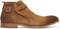 Hudson H By Tan Suede Hank Boots
