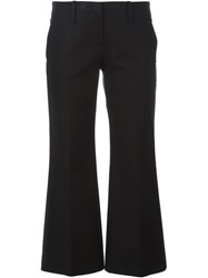 Michael Kors Cropped Trousers Black