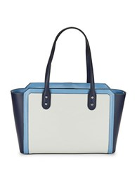 Ivanka Trump Soho Eclipse Leather Tote Eclipse Blue