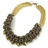 The Knot House Multi Rockaway Necklace