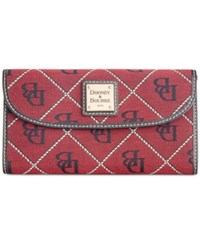 Dooney And Bourke Continental Clutch Wallet A Macy's Exclusive Style Cranberry