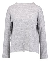 Jdymurray Jumper Light Grey Melange Mottled Light Grey