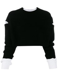 Alexander Wang T By Cropped Layered Jumper 60