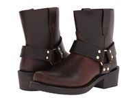 Durango Db714 Brown Frontier Pull Up Leather Cowboy Boots