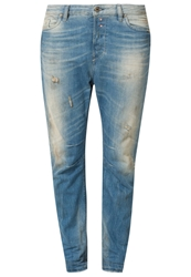 Diesel Eazee Relaxed Fit Jeans 0822C Bleached Denim