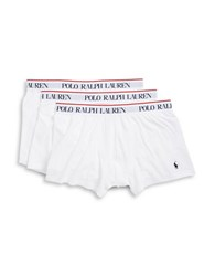 Polo Ralph Lauren 3 Pack Stretch Jersey Boxer Brief White