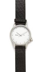 Miansai M24 Leather Watch White Black