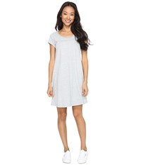 Mod O Doc Classic Jersey Seamed T Shirt Dress Heather Grey Women's Dress Gray