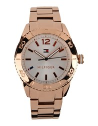 Tommy Hilfiger Timepieces Wrist Watches Women Copper