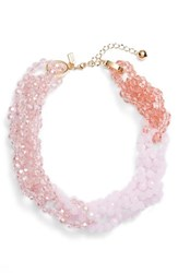 Kate Spade New York The Bead Goes On Collar Necklace Blush Multi
