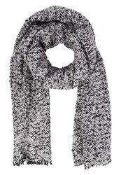 Vero Moda Vmkanna Scarf Black Light Grey Melange