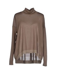 Lorena Antoniazzi Turtlenecks Grey