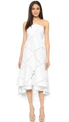Milly Diamond Fil Lara Dress White