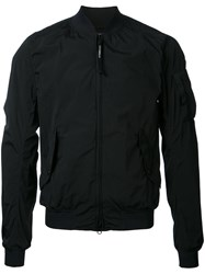 C.P. Company Cp Arm Pocket Bomber Jacket Black