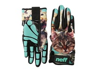 Neff Chameleon Glove Kitten Snowboard Gloves Brown