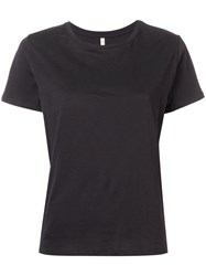 Bellerose Short Sleeve Fitted T Shirt Black