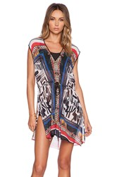 Clover Canyon Imperial Marking Caftan Black