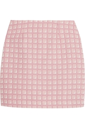 Alexander Lewis Morningside Cotton Jacquard Mini Skirt