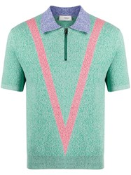 Pringle Of Scotland Tech Knit Polo Shirt 60