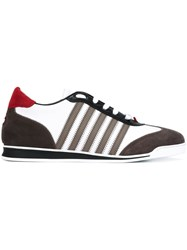 Dsquared2 'New Runner' Sneakers Brown