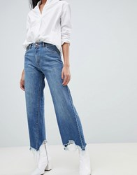 Dl1961 Hepburn High Rise Wide Leg Jean Blue