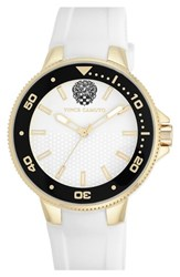 Women's Vince Camuto Silicone Strap Watch 41Mm