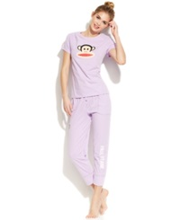 Paul Frank Back To Basics Julius Top And Pajama Pants Lilac