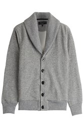 Rag And Bone Rag And Bone Jersey Cardigan With Cotton Grey