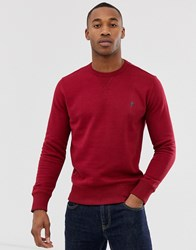 French Connection Basic Logo Crew Neck Jumper Tan