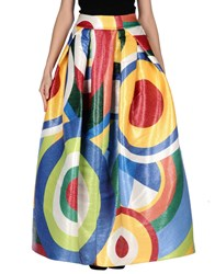 Dsquared2 Long Skirts Yellow