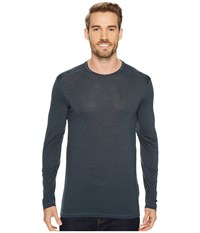 Fjall Raven High Coast First Layer Long Sleeve Ash Grey Men's Long Sleeve Pullover Gray