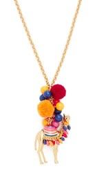 Kate Spade New York Spice Things Up Camel Pendant Necklace Multi