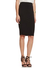 Vince Camuto Midi Tube Skirt Rich Black