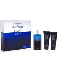 Davidoff Cool Water Nightdive Gift Set A Macy's Exclusive